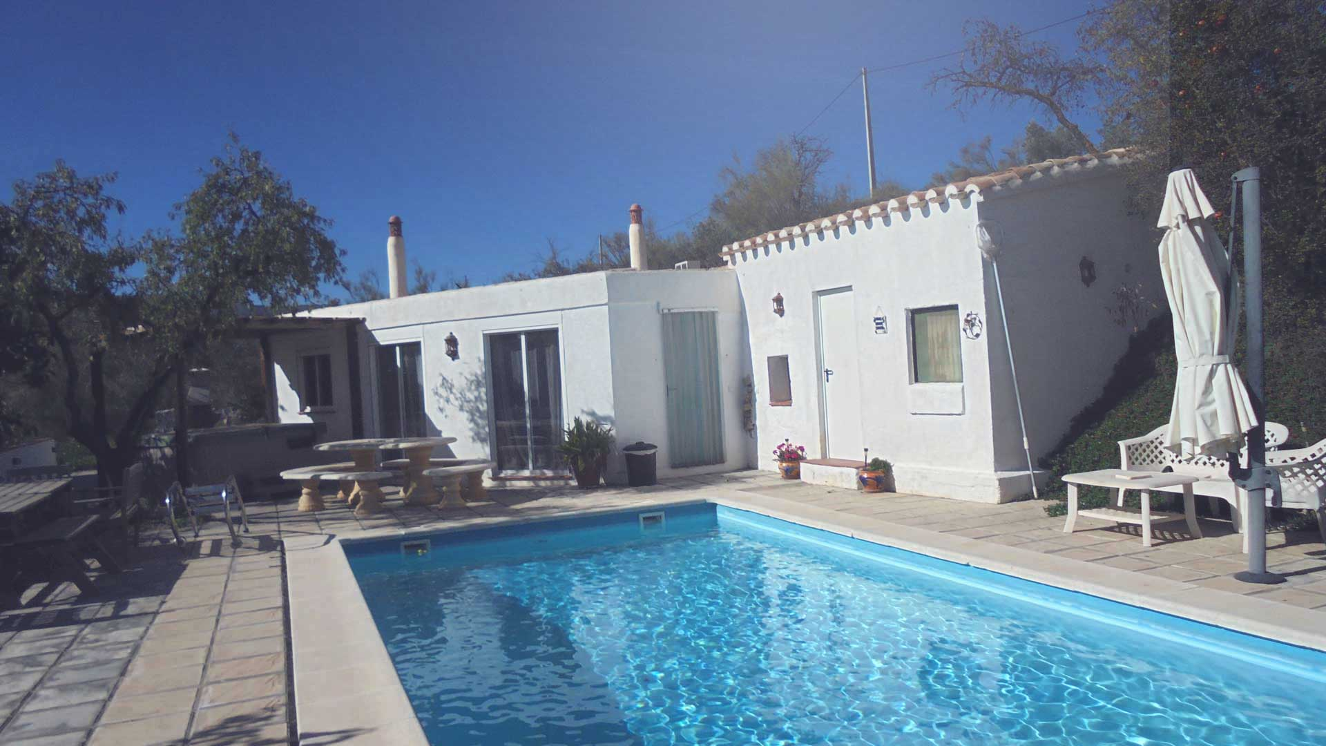 Pool Area | Casa Tranquila Seron | Almeria | Spain | Apartments to Rent
